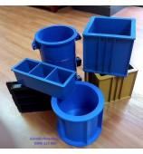 Các loại khuôn đúc mẫu bê tông bằng nhựa phổ biến hiện nay