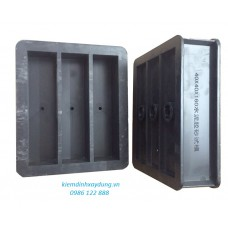 Khuôn đúc mẫu vữa xi măng 40x40x160 bằng nhựa